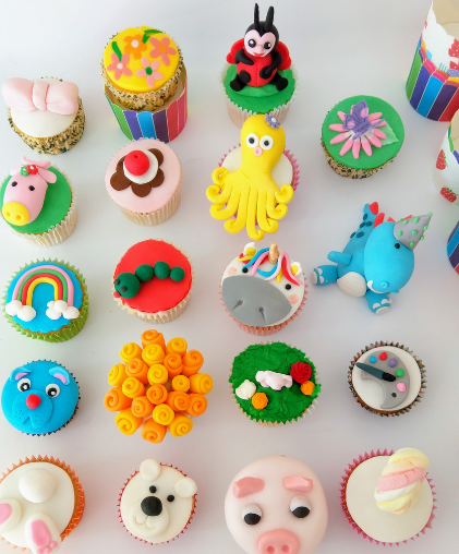 childrens birthday party cupcakes party south london delivery