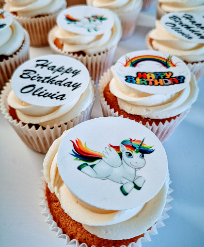 unicorn birthday party cupcakes south london bendycocoa delivery