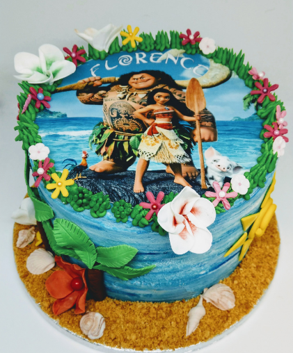 moana childrens cake delivery south london