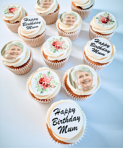 mothers day mums birthday cupcakes photo south london