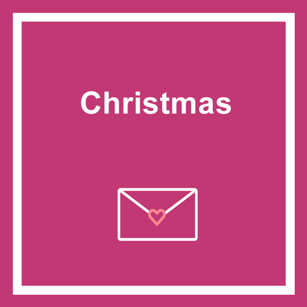 Christmas cards category icon