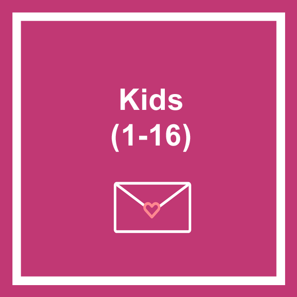 Kids birthday cards category icon