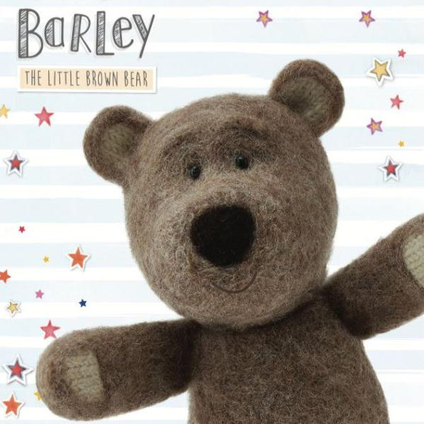Barley the Little Brown Bear cards logo