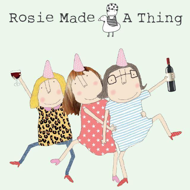 Rosie Made A Thing cards logo