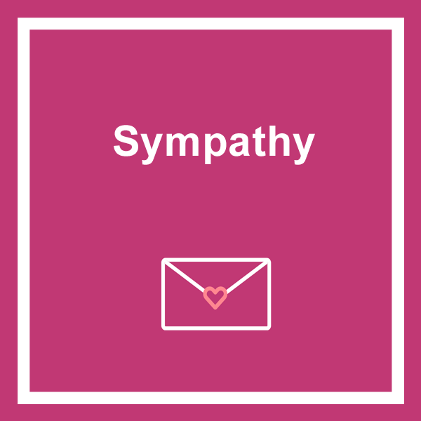 Sympathy cards category icon