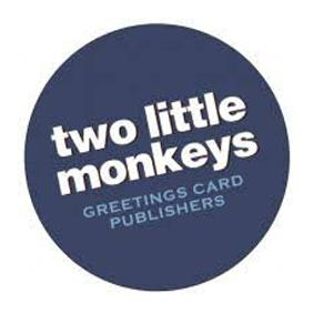 Two Little Monkeys cards logo
