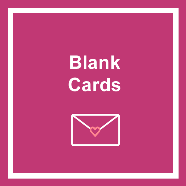 Blank greeting cards category icon