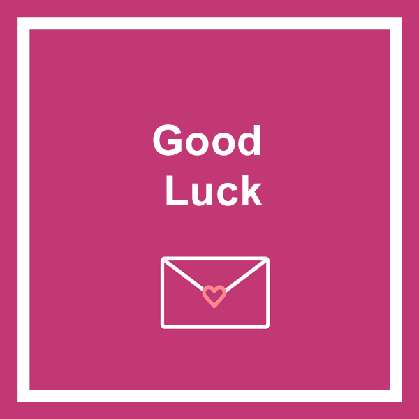 Good luck greeting cards category icon