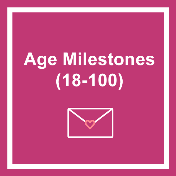 Age milestones birthday cards category icon