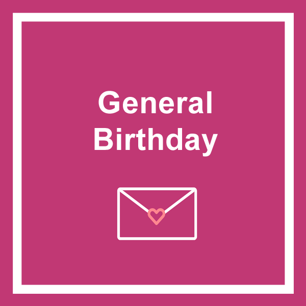 General birthday cards category icon
