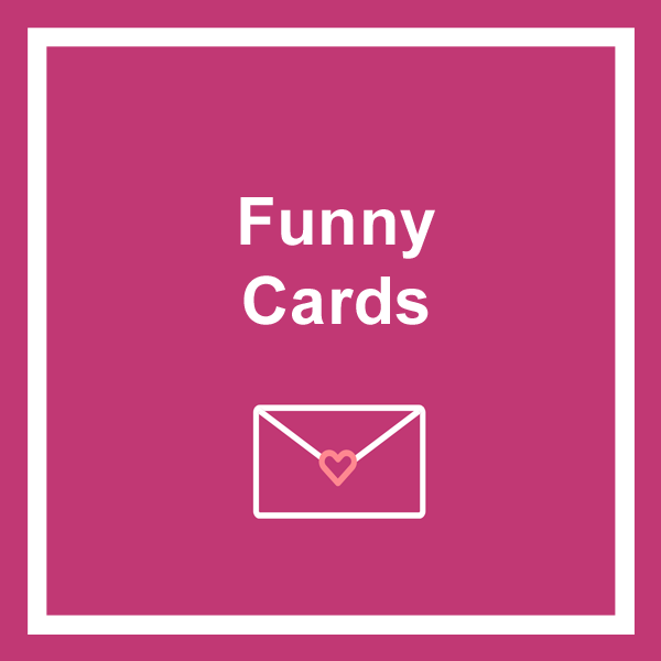 Funny greeting cards category icon