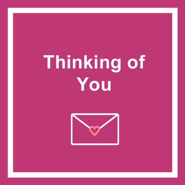 Thinking of you greeting cards category icon