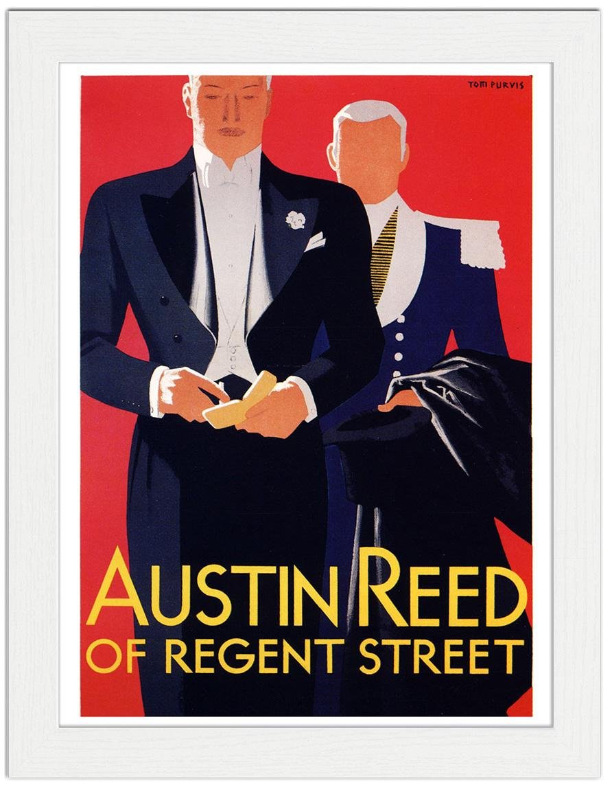 Austin Reed Advertising Poster Artist Tom Purvis 1935 Art Print 7 99 Framed Print 22 99 T Shirt 12 99 Shopping Bag 8 99