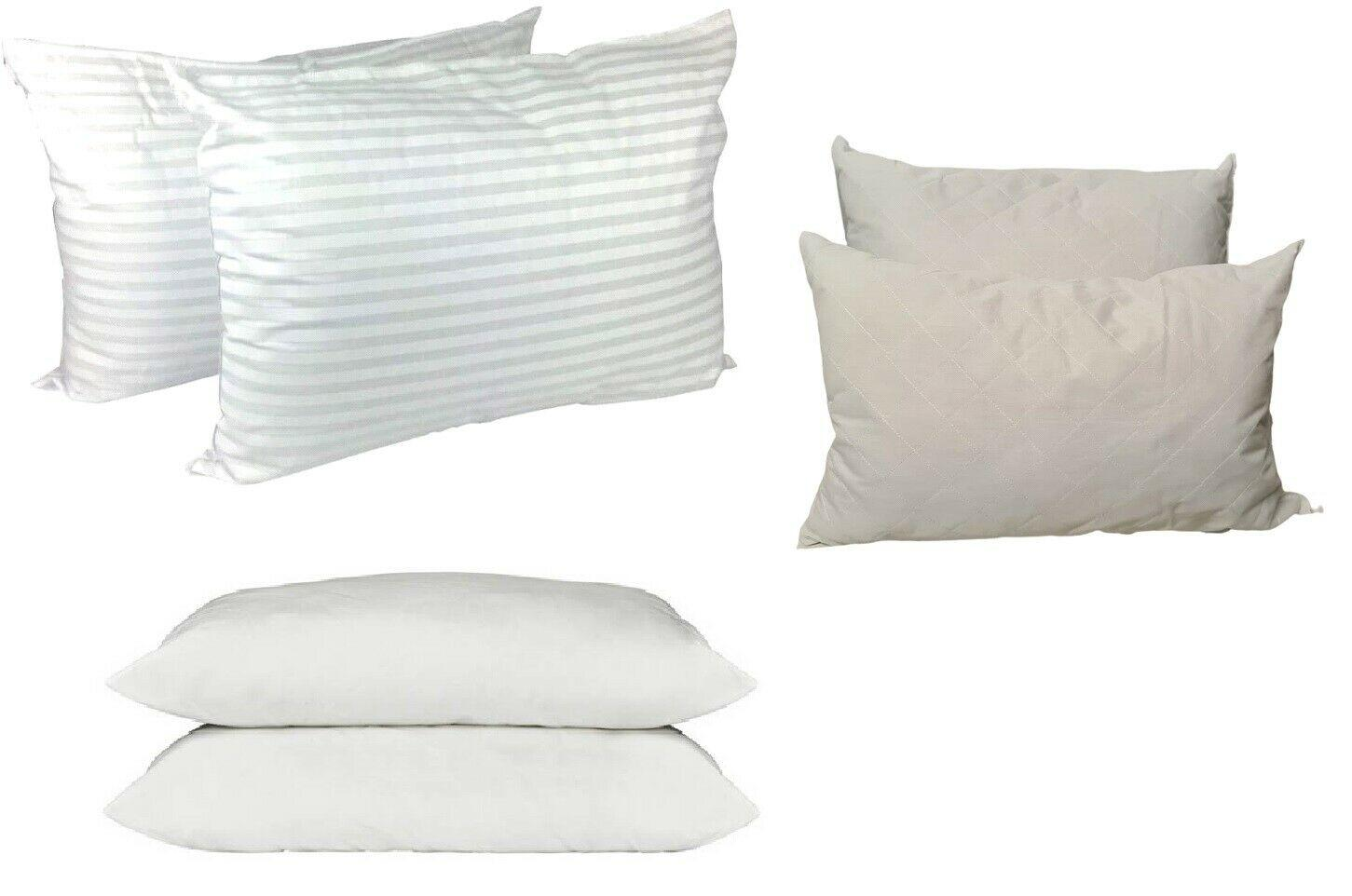 Supersoft Washable Pair of Firm Pillows