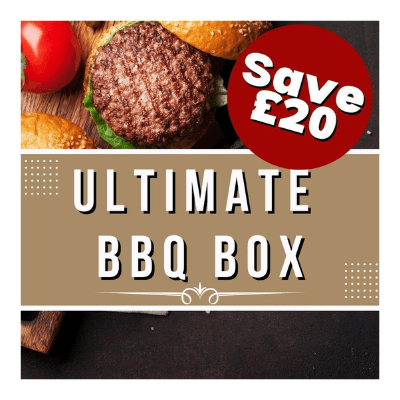 BBQ meat box available from Supreme Sausages