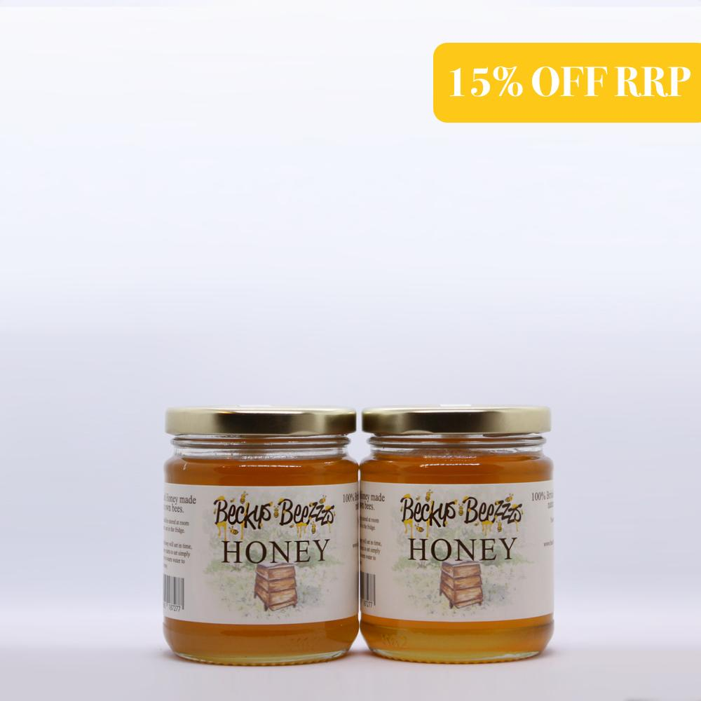 The Bumblebee Local Raw Honey Subscription