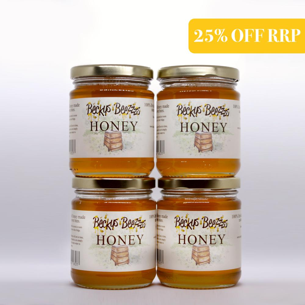 The Honeybee 6 Month Local Honey Subscription
