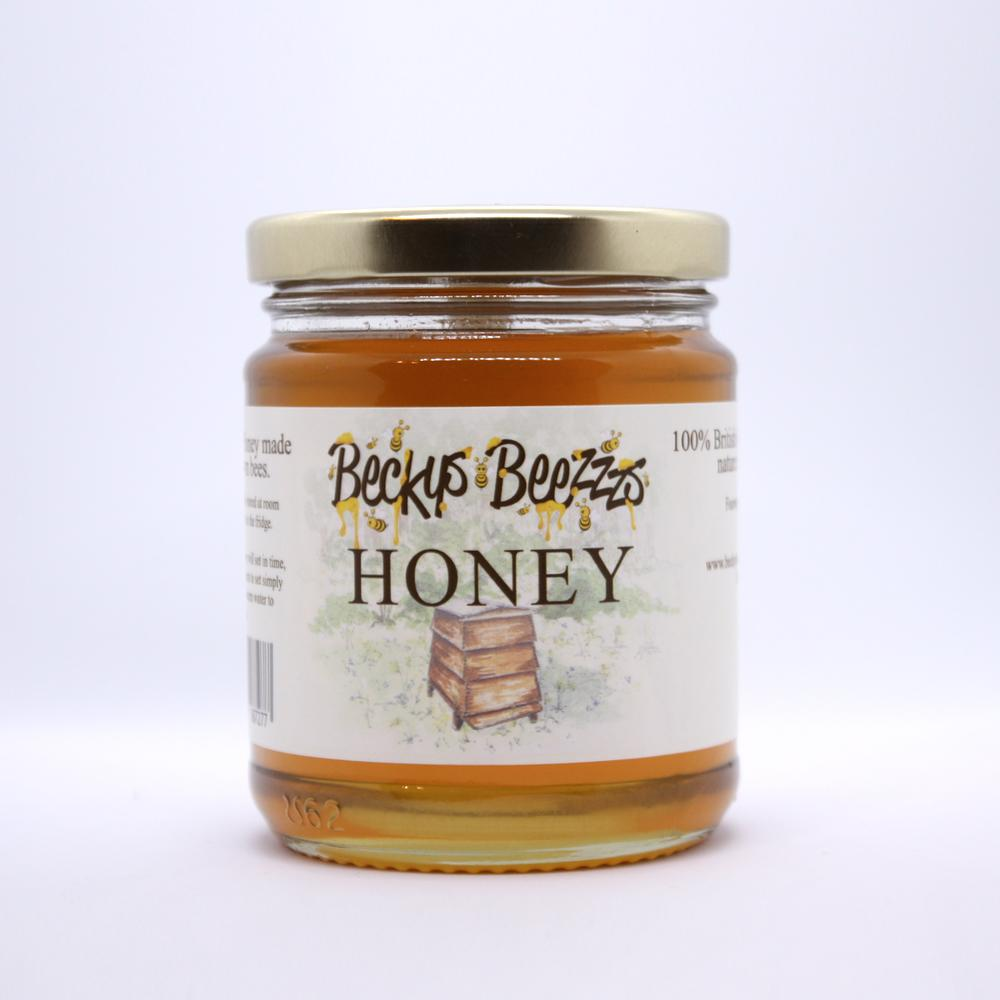12oz Runny Local Honey Face