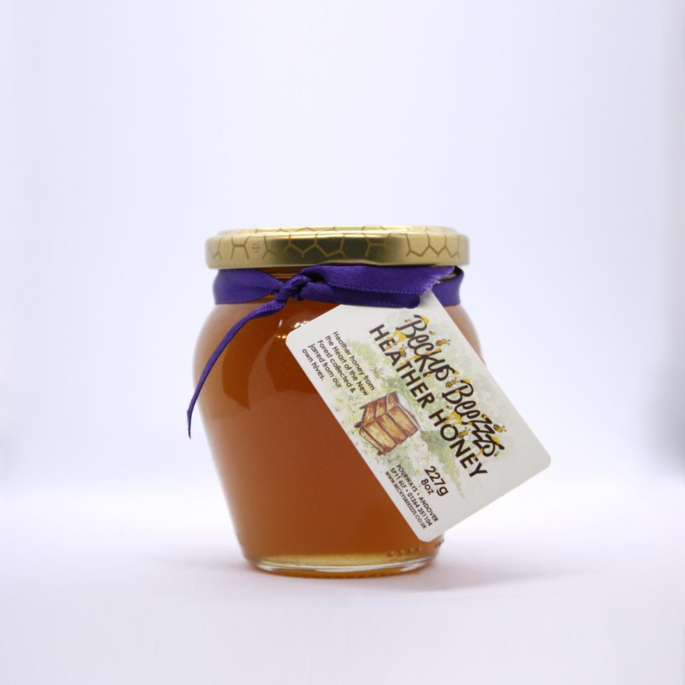 Ling Heather Honey 8oz Orcio Jar