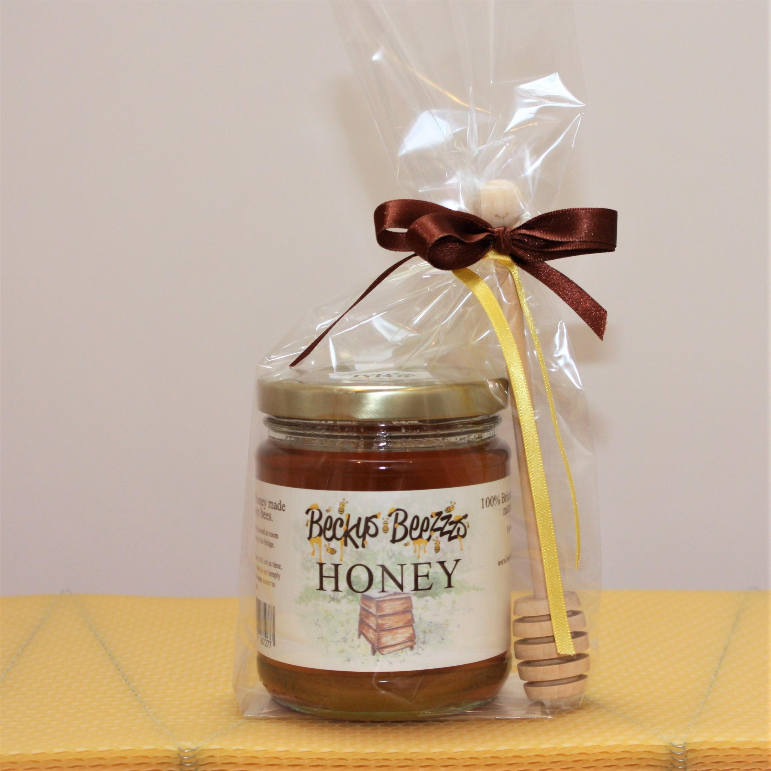 Local Runny Honey and Drizzler Giftpack