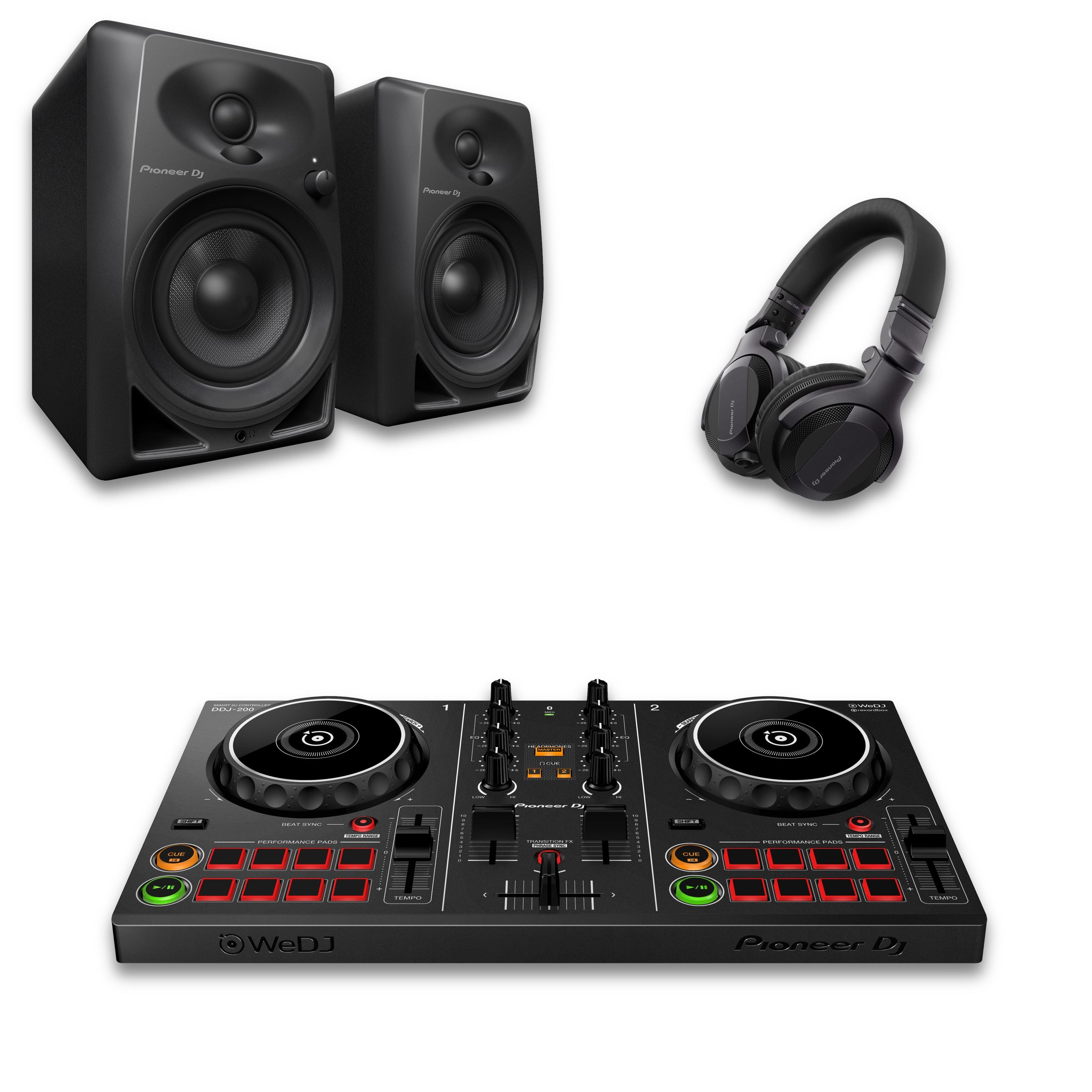 Pioneer DJ DDJ-200 Intro DJ Bundle