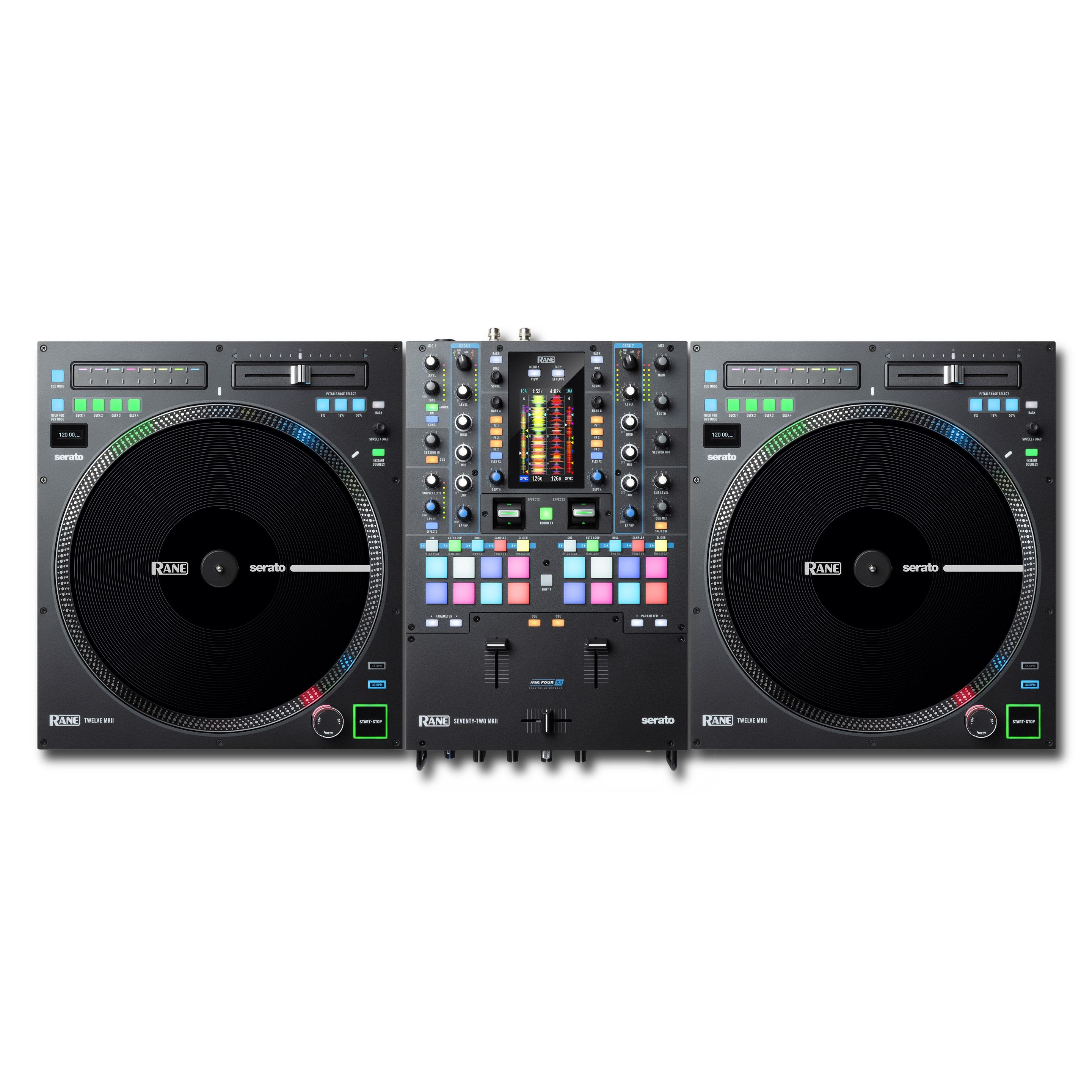 RANE TWELVE MK2 & SEVENTY TWO MK2 DJ Set
