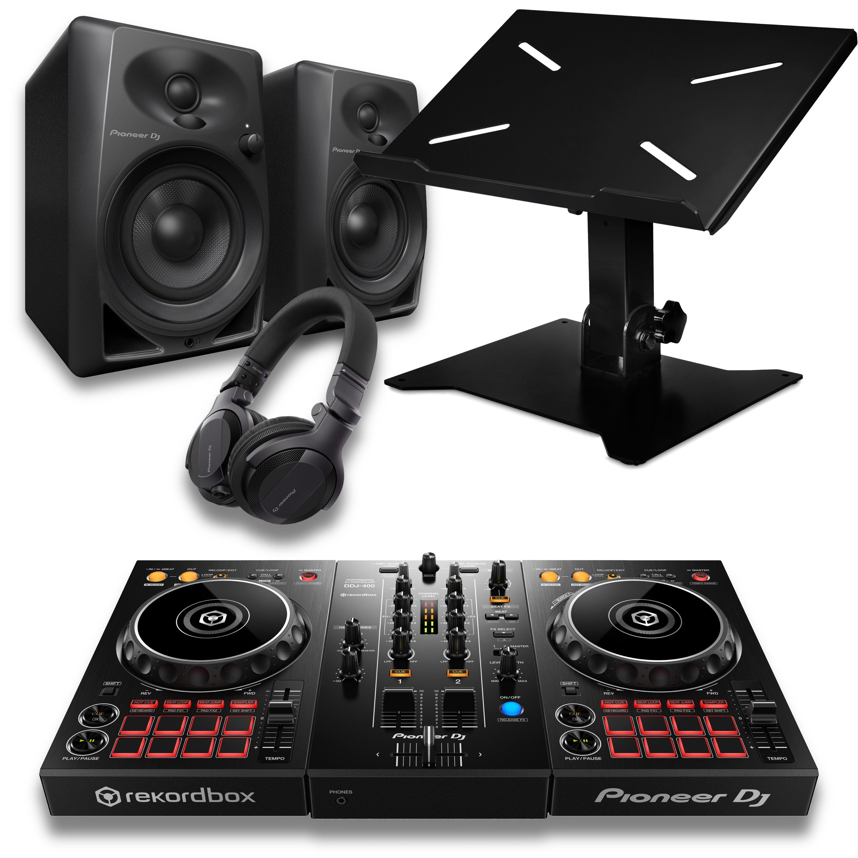 Pioneer DJ DDJ-400 Beginner DJ Package