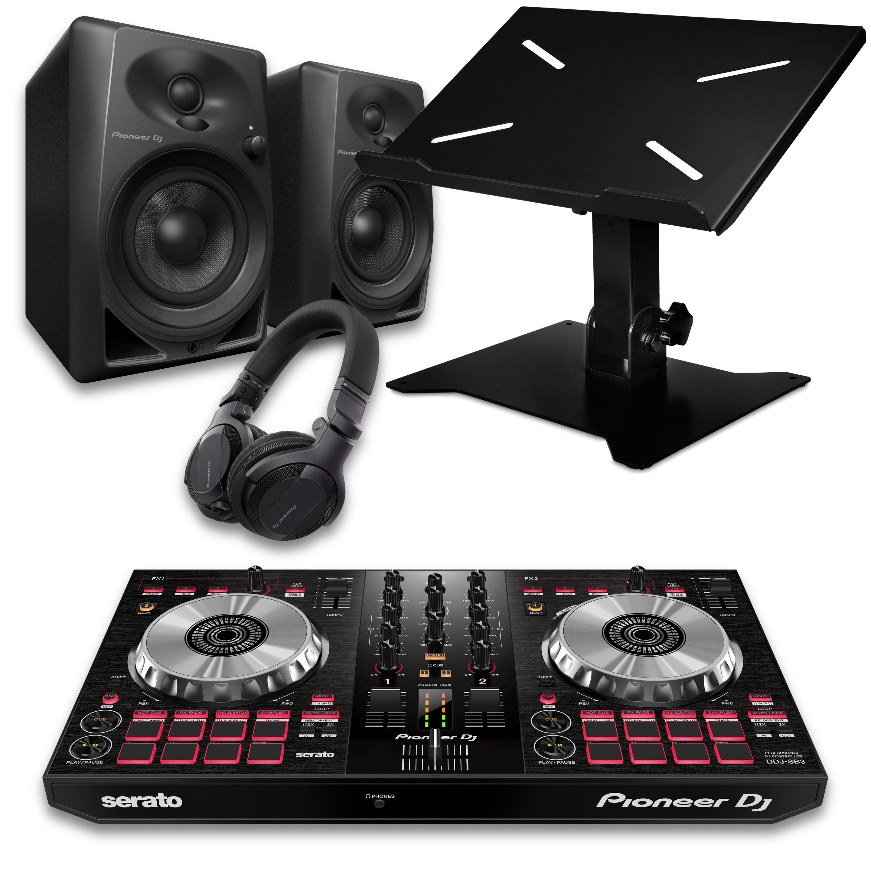 Pioneer DJ DDJ-SB3 Beginner DJ Package