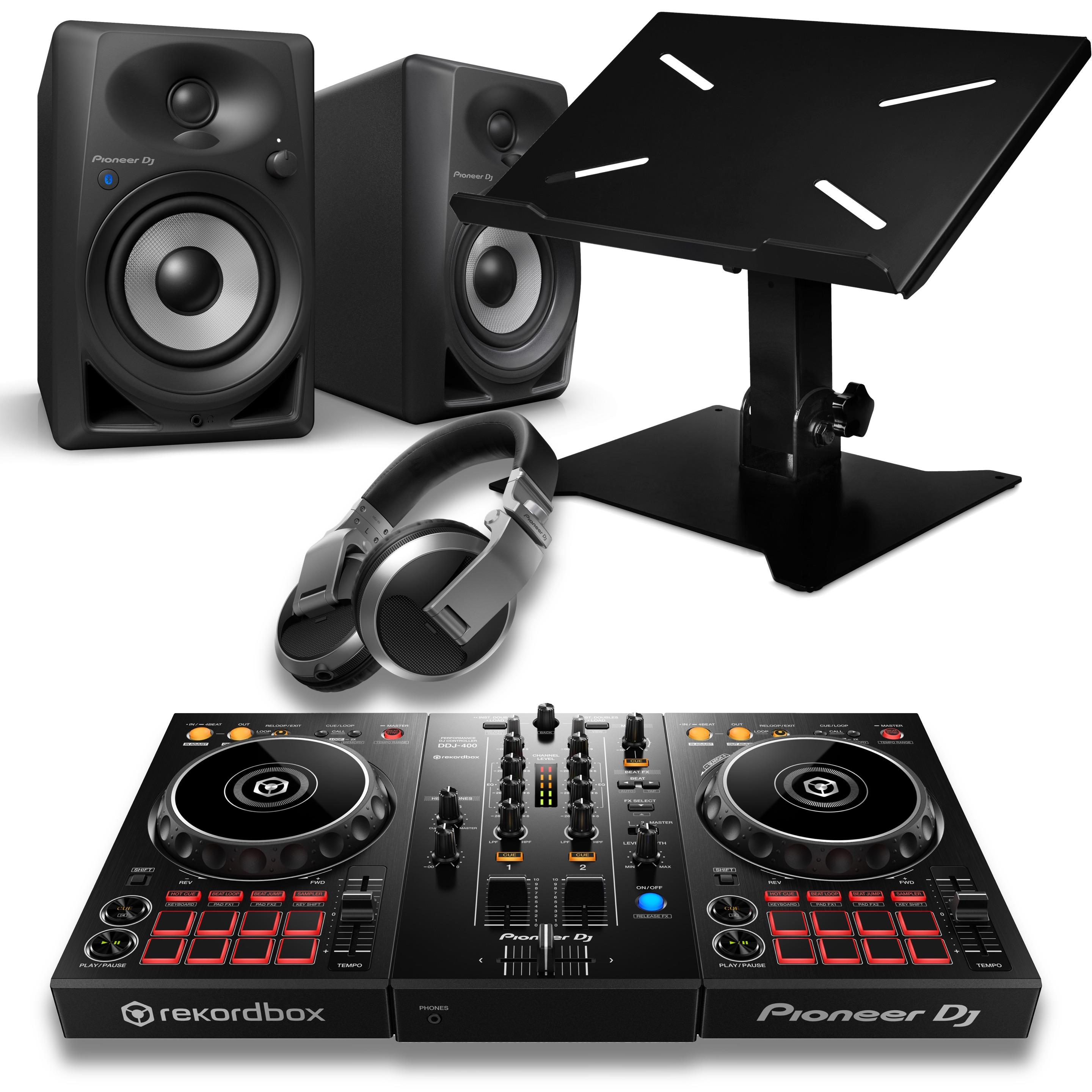 Pioneer DJ DDJ400 Beginner Bluetooth DJ Package