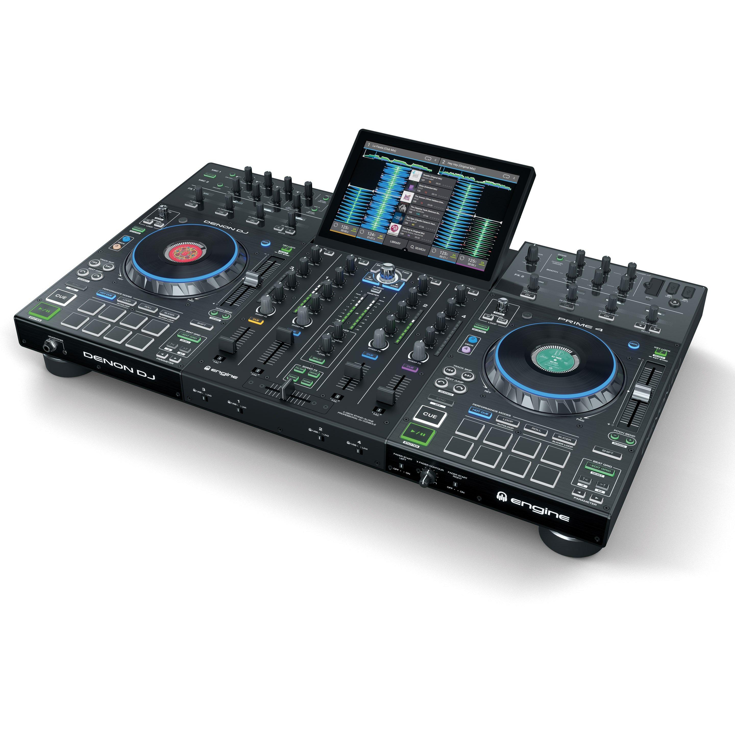 Denon DJ PRIME 4 Angled Right
