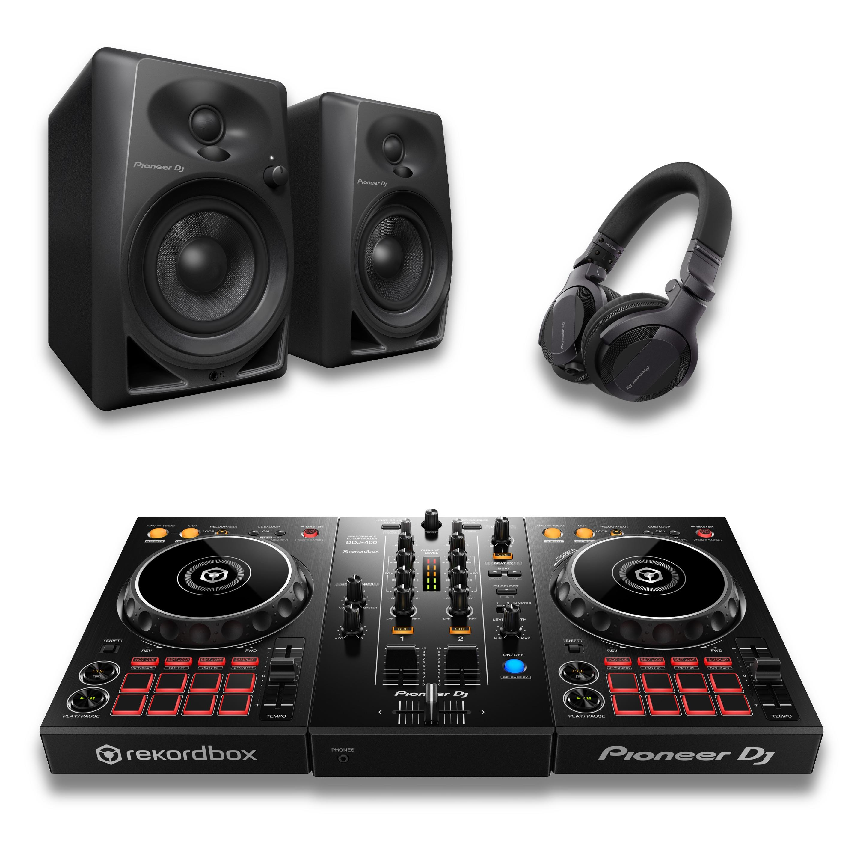 Pioneer DDJ-400 Intro DJ Bundle