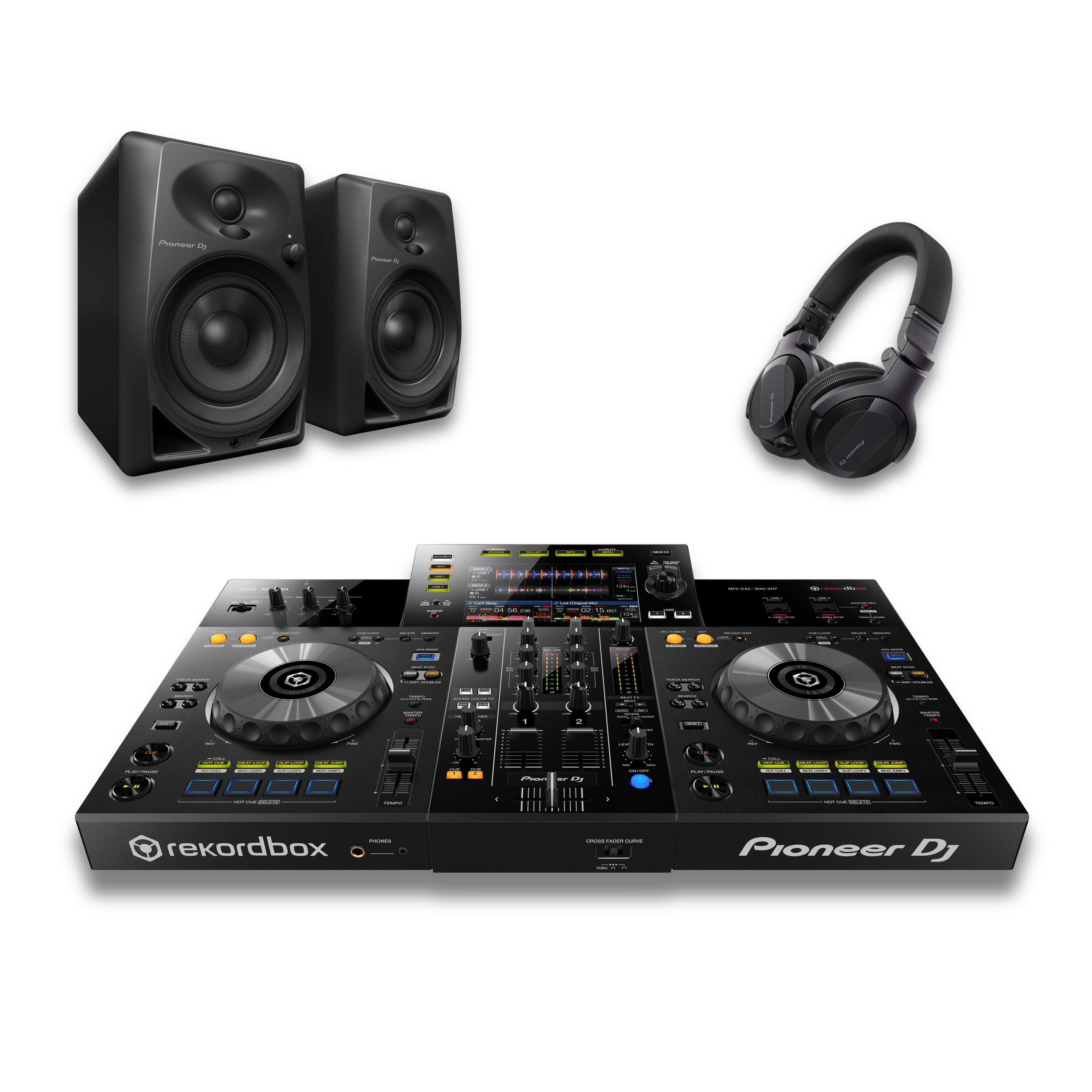 Pioneer DJ XDJ-RR & DM-40 Package