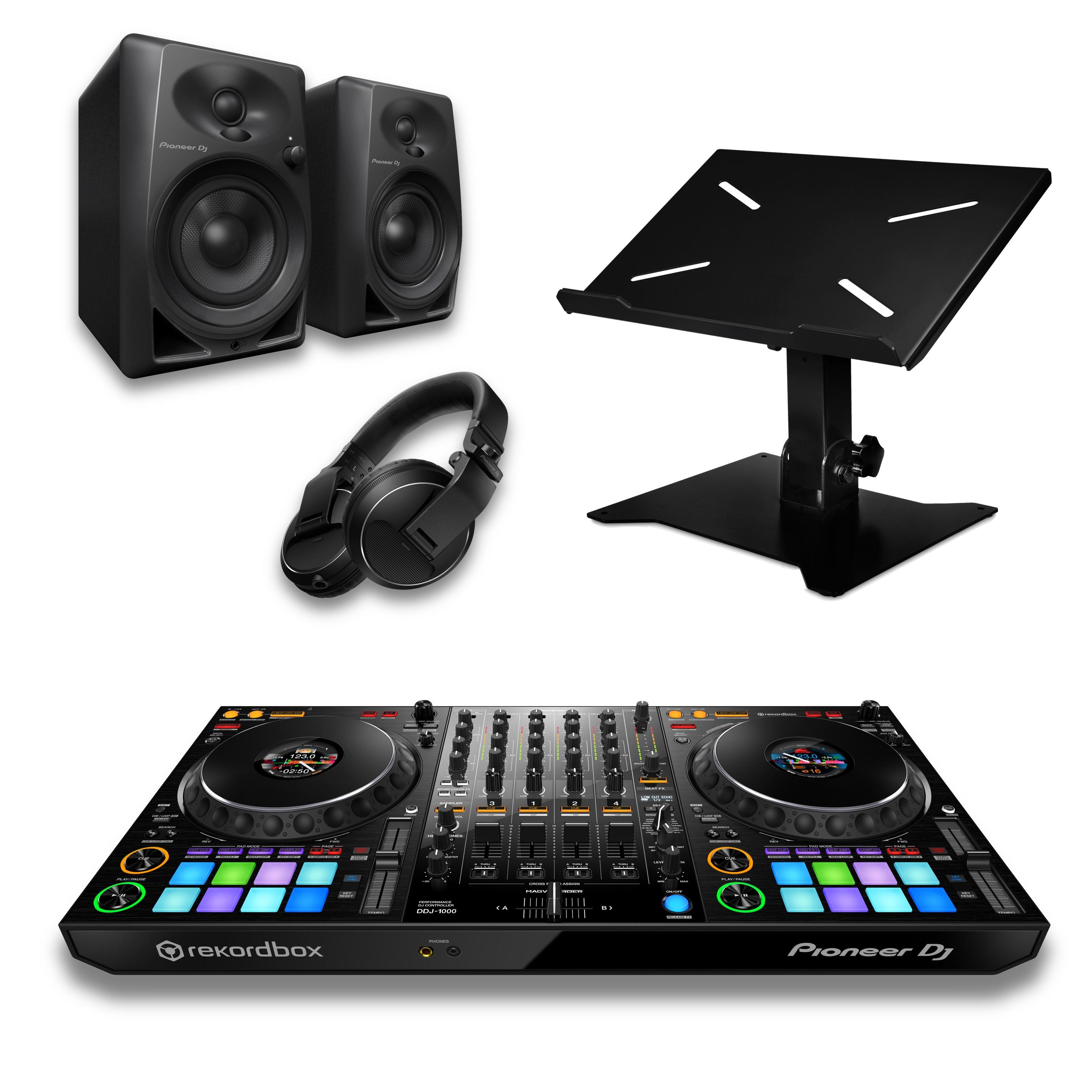 Pioneer DJ DDJ-1000 & DM-40 Package