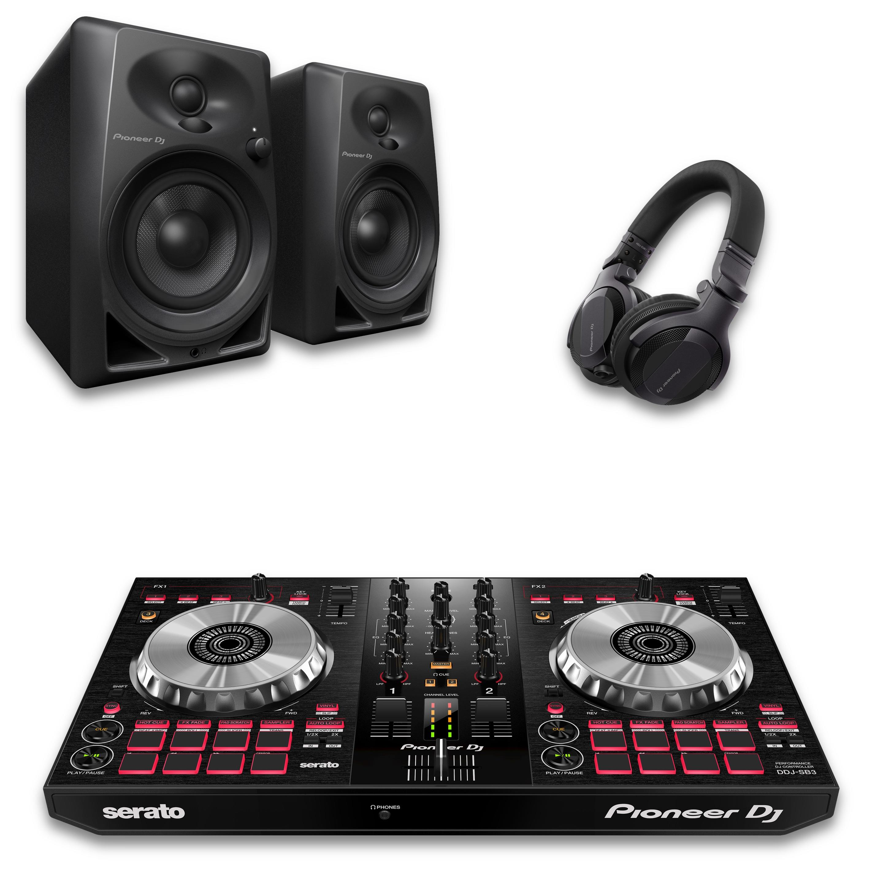 Pioneer DJ DDJ-SB3 Intro DJ Bundle