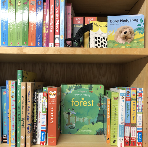 bookshelves baby and toddler category