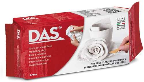 DAS air-dry clay white