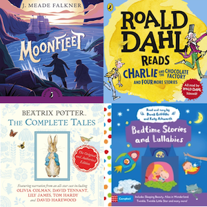 Children's audiobook cds