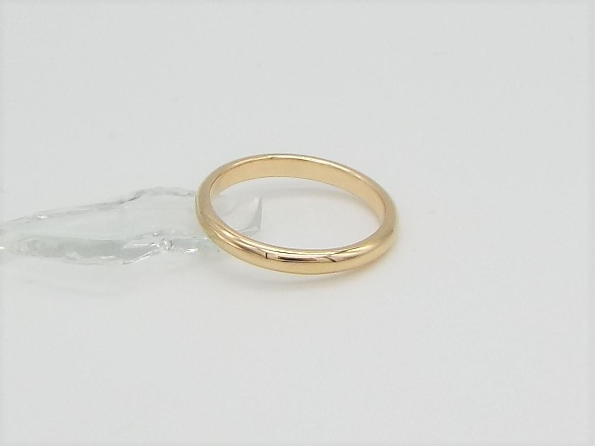 classic 9ct yellow gold wedding ring