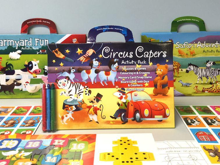 <h2>Children's Activity Packs <p><p><b>We are OPEN for business! <p><p><b>Get your venue ready for the END of LOCKDOWN!
