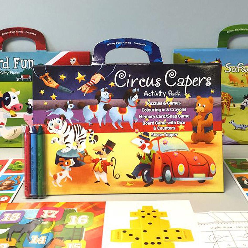 kids activity packs