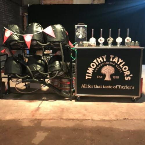 Real ale mobile bar