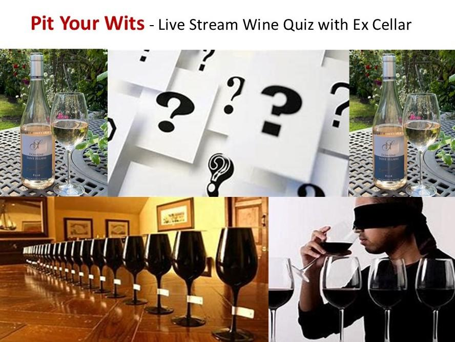 Christmas Wine Tasting & Pit your Wits Wine Quiz