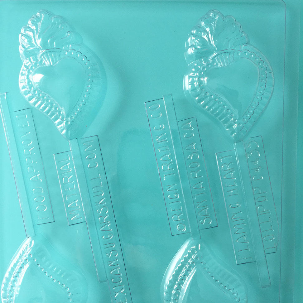 Mexican Heart Lolly Mould