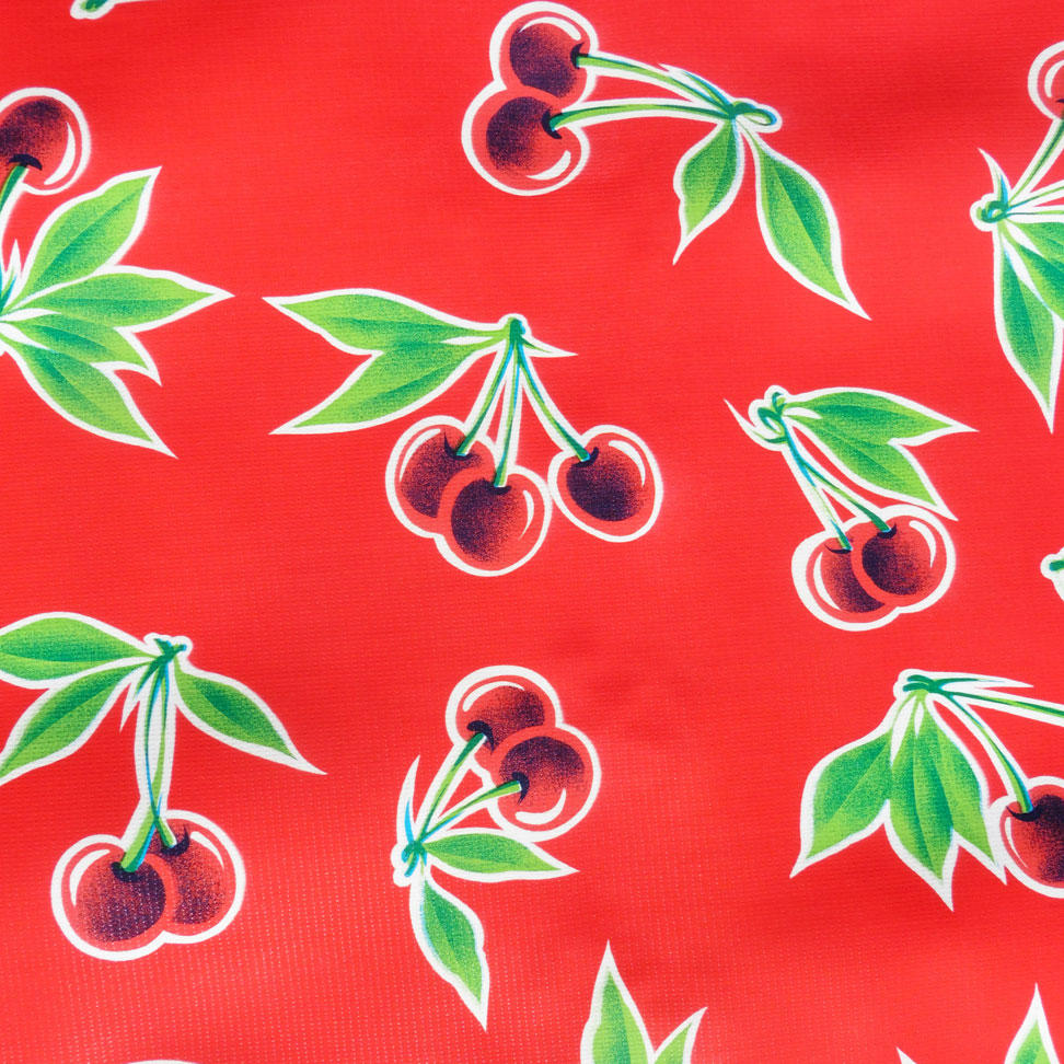 Red Cherry Oilcloth