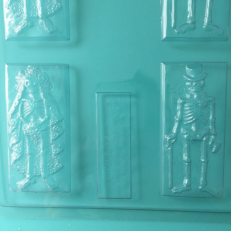 Skeleton Chocolate Bar Mould