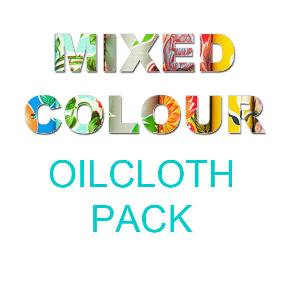 Image saying Mixed Colour Oilcloth pack