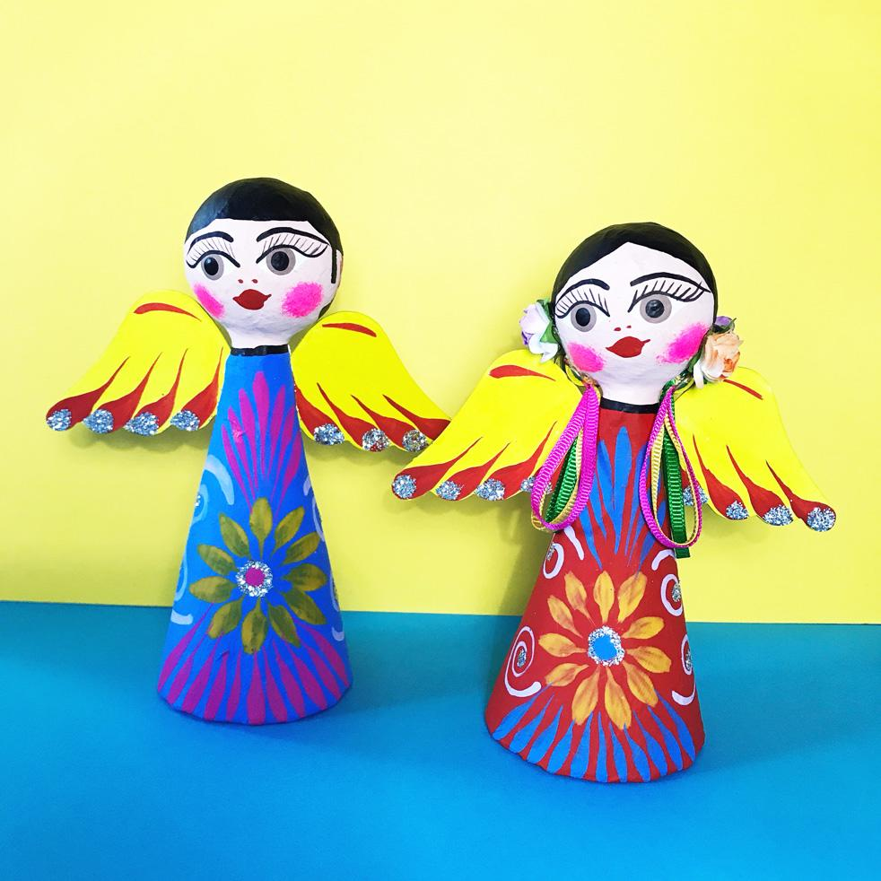 mexican angel ornaments uk