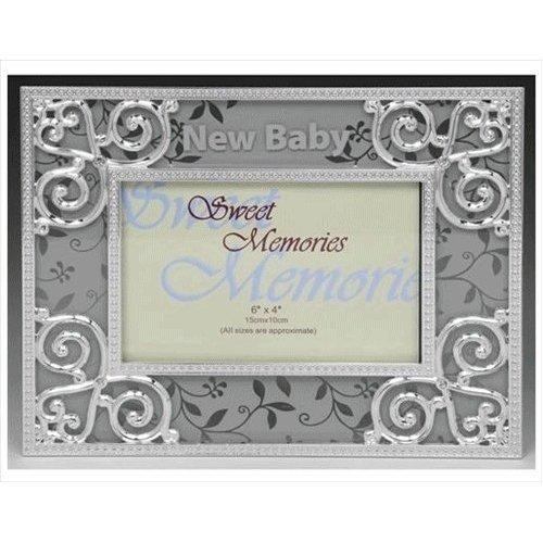 New Baby Silver Celebration Photo Frame