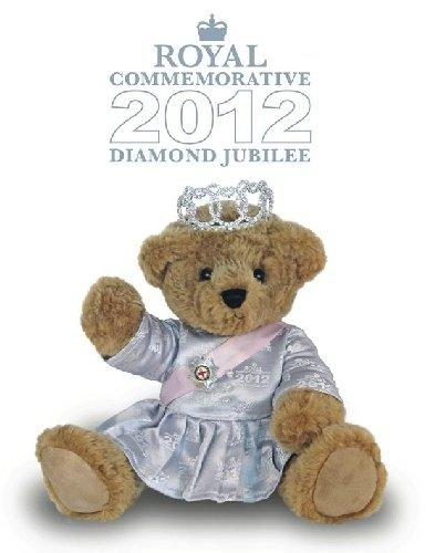 Diamond Jubilee Queen Elizabeth Teddy Bear - JB1200