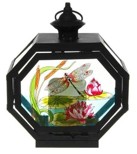 Lily Pond Collection Metal Lantern